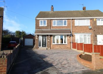 Thumbnail 3 bed semi-detached house for sale in Frensham Drive, Townville, Castleford, West Yorkshire
