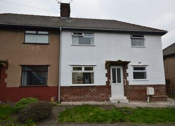 Thumbnail 3 bed semi-detached house to rent in Devonshire Avenue North, New Whittington, Chesterfield