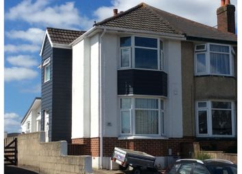 Thumbnail 2 bed semi-detached house for sale in Lincoln Road, Poole