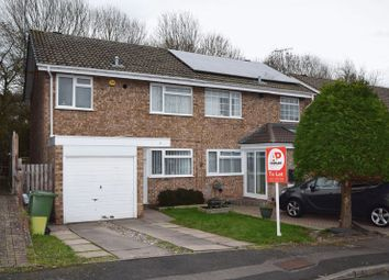 Thumbnail 3 bed semi-detached house to rent in Atcham Close, Redditch