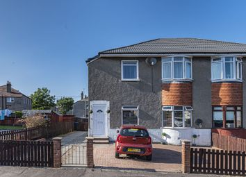 Thumbnail 2 bed flat for sale in 32 Innerwick Drive, Glasgow