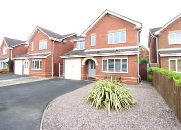 Thumbnail 4 bed detached house for sale in Pembroke Close, Tamworth