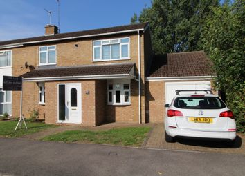 Thumbnail 3 bed semi-detached house for sale in Dove Close, Newport Pagnell, Buckinghamshire
