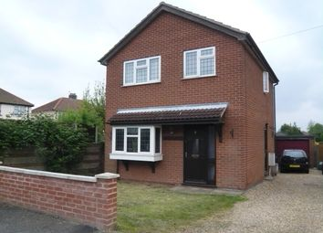 Thumbnail 3 bed detached house for sale in Neville Close, Sprowston, Norwich