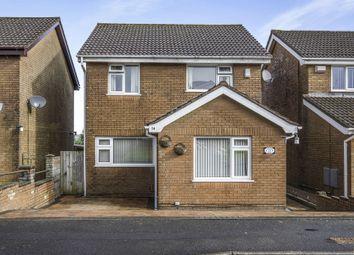 Thumbnail 4 bedroom detached house for sale in Ffordd Dewi, Llangyfelach, Swansea
