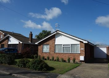 Thumbnail 3 bed detached bungalow for sale in Grebe Close, Bradwell, Great Yarmouth