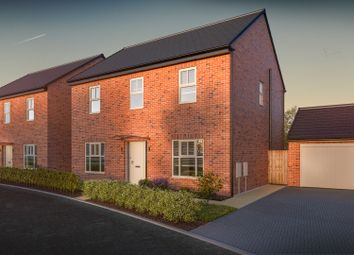 Thumbnail 4 bed detached house for sale in Leeming Lane, Dishforth