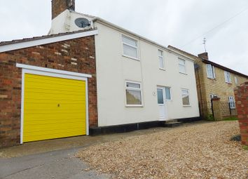 Thumbnail 3 bed detached house for sale in Main Street, Farcet, Peterborough, Cambridgeshire.