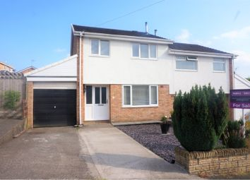 Thumbnail 3 bed semi-detached house for sale in Rhiw'r Ddar, Taffs Well