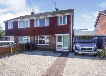 Thumbnail 3 bed semi-detached house for sale in Cherry Tree Close, North Hykeham, Lincoln