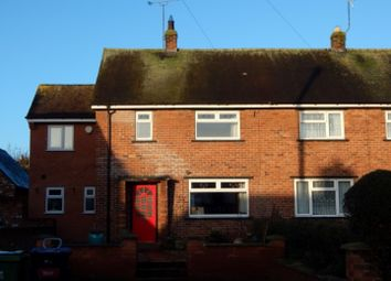 Thumbnail 3 bed end terrace house to rent in The Gardens, Holt, Wrexham