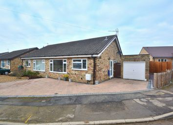 Thumbnail 2 bedroom semi-detached bungalow for sale in Hermitage Road, Earith, Cambridgeshire