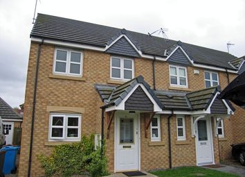 Thumbnail 3 bedroom semi-detached house to rent in Elvaston Park, Kingswood, Hull