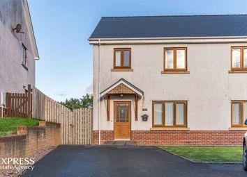 Thumbnail 4 bed semi-detached house for sale in Caer Wylan, Llanbadarn Fawr, Aberystwyth, Ceredigion