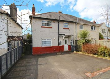 Thumbnail 3 bed semi-detached house for sale in North Road, Gabalfa, Cardiff