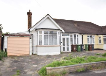 Thumbnail 2 bedroom semi-detached bungalow for sale in Tolworth Gardens, Chadwell Heath, Romford