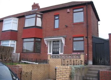 Thumbnail 2 bed semi-detached house to rent in Elswick Road, Elswick, Newcastle Upon Tyne