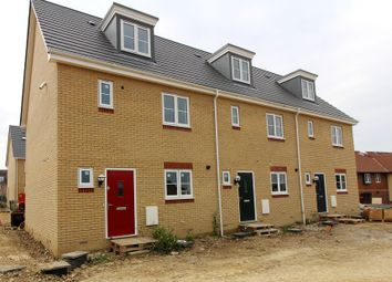 Thumbnail 4 bedroom town house for sale in Brybank Road, Haverhill