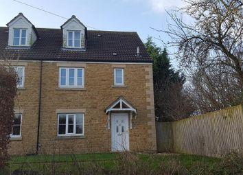 Thumbnail 4 bed town house for sale in Heathfield Row, Haselbury Plucknett