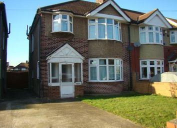 Thumbnail 3 bedroom semi-detached house to rent in Springwell Road, Hounslow