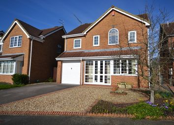 Thumbnail 4 bed detached house for sale in Standon Avenue, Newcastle-Under-Lyme
