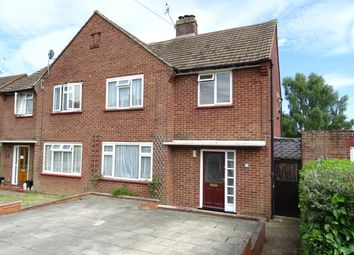 Thumbnail 3 bed semi-detached house for sale in Manor Drive, New Haw