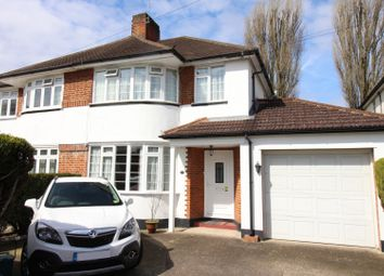 Thumbnail 3 bed semi-detached house for sale in Timbercroft, Ewell, Epsom