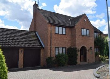 Thumbnail 5 bed detached house for sale in Lingwood Park, Longthorpe, Peterborough