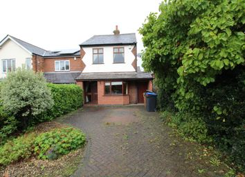 Thumbnail 3 bed detached house for sale in Sketchley Road, Burbage, Hinckley
