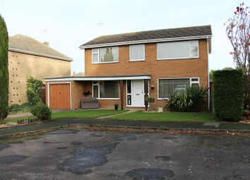 Thumbnail 4 bed detached house for sale in Ambury Gardens, Crowland, Peterborough