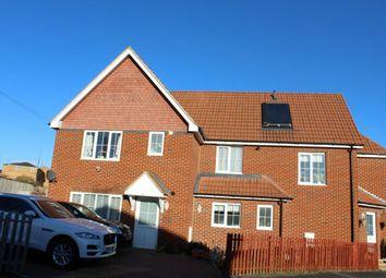 Thumbnail 3 bed terraced house to rent in St. Josephs Road, Aldershot