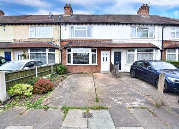 Thumbnail 2 bed terraced house for sale in Leslie Avenue, Beeston, Nottingham