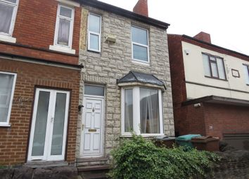 Thumbnail 3 bed semi-detached house for sale in Broomhill Road, Bulwell, Nottingham