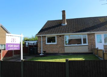 Thumbnail 2 bed semi-detached house for sale in Station Road, North Wingfield, Chesterfield