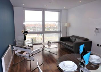 Thumbnail 1 bed flat for sale in Milliners Wharf, 2 Munday Street, Manchester