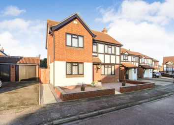 Thumbnail 4 bedroom detached house for sale in Naylor Avenue, Kempston, Bedford