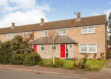 Thumbnail 3 bed end terrace house for sale in Magdalene Close, Longstanton, Cambridge