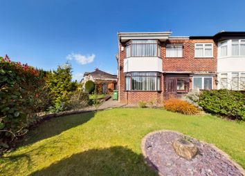 Thumbnail 4 bed semi-detached house for sale in Barton Road, Stretford, Manchester