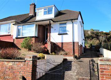 Thumbnail 2 bed semi-detached bungalow for sale in Clifton Crescent, Paignton