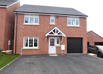 Thumbnail 5 bedroom detached house for sale in Cae Cenydd, Brackla, Bridgend.