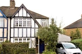 Thumbnail 4 bed semi-detached house to rent in Toynbee Road, Wimbledon, London