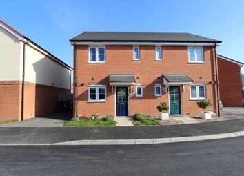 Thumbnail 2 bed semi-detached house for sale in Swift Crescent, Deal