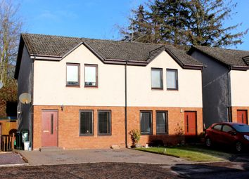 Thumbnail 2 bed semi-detached house for sale in 8 Seton Close, Blairgowrie