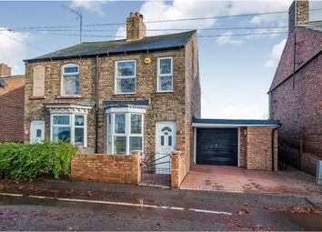 Thumbnail 2 bed semi-detached house for sale in The Bank, Parson Drove, Wisbech
