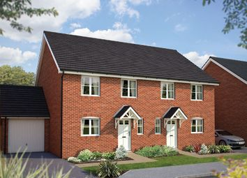 "Thumbnail 3 bed semi-detached house for sale in ""The Slimbridge"" at Cleveland Drive, Brockworth, Gloucester"