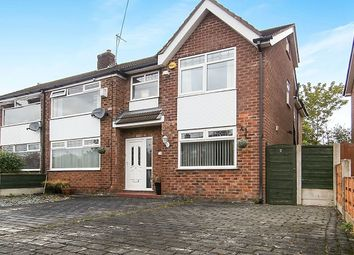 Thumbnail 4 bedroom semi-detached house for sale in Arnside Avenue, Hazel Grove, Stockport