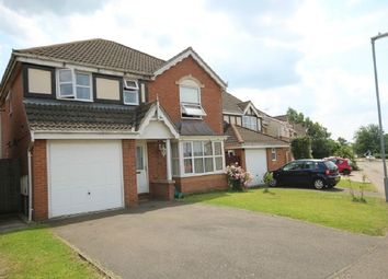 Thumbnail 4 bed detached house for sale in Pendle Avenue, Kettering