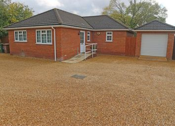 Thumbnail 3 bedroom detached bungalow for sale in Chapnall Road, Wisbech, Norfolk