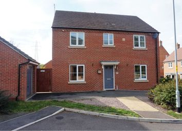 Thumbnail 4 bed detached house for sale in Eyam Way, Grantham