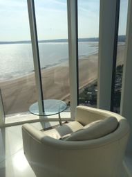 Thumbnail 3 bed flat to rent in Meridian Tower, Trawler Road, Maritime Quarter, Swansea
